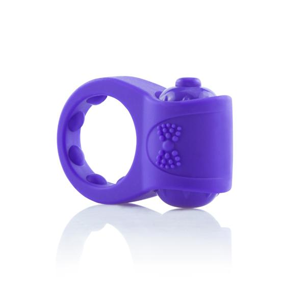 Primo Tux Purple Vibrating Ring
