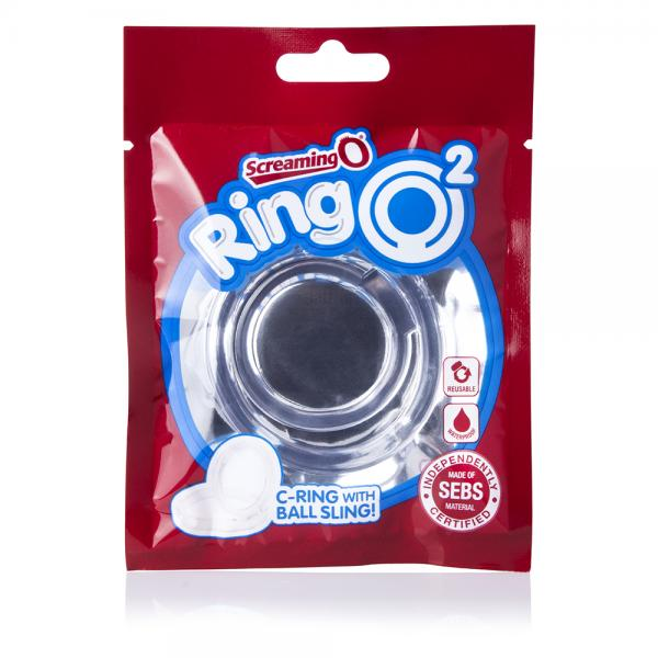 Screaming O Ringo 2 Clear C-Ring with Ball Sling
