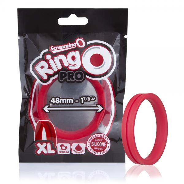 Screaming O Ringo Pro XL Red Ring