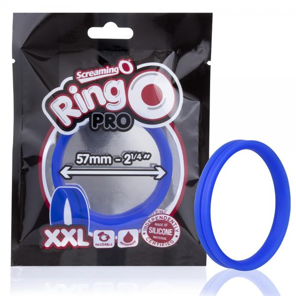 Screaming O Ringo Pro XXL Blue Ring