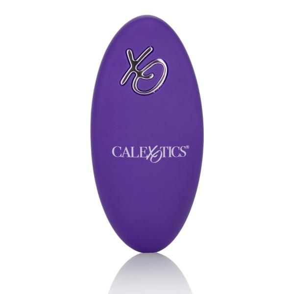Silicone Remote Rechargeable Orgasm Ring Purple