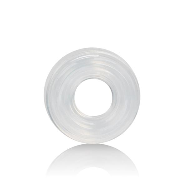 Premium Silicone Ring Medium Clear