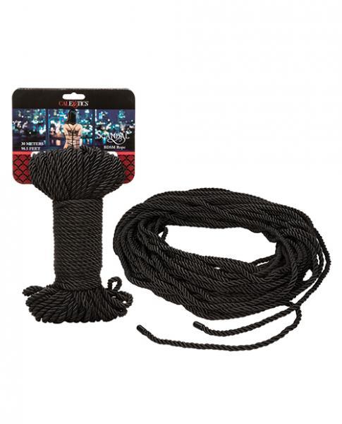 Scandal BDSM Rope 98.5 feet Black