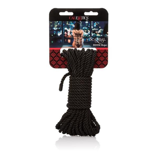 Scandal BDSM Rope Black