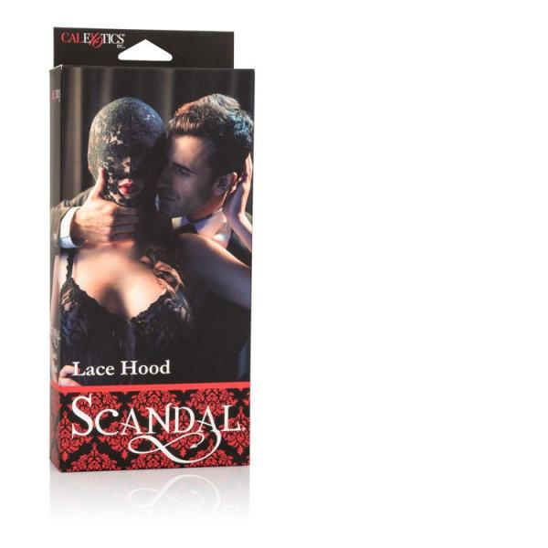 Scandal Lace Hood Black O/S