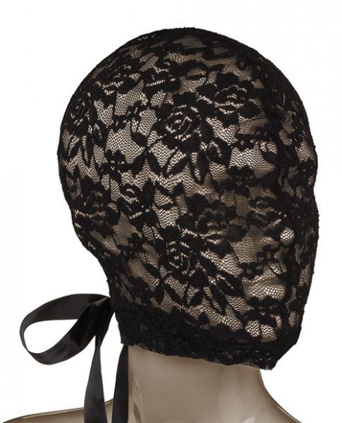 Scandal Corset Lace Hood Black O/S