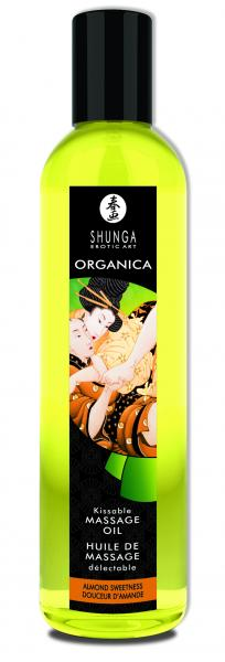 Shunga Organica Massage Oil Almond Sweetness 8oz