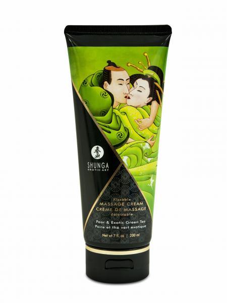 Shunga Massage Cream Pear & Green Tea 7oz