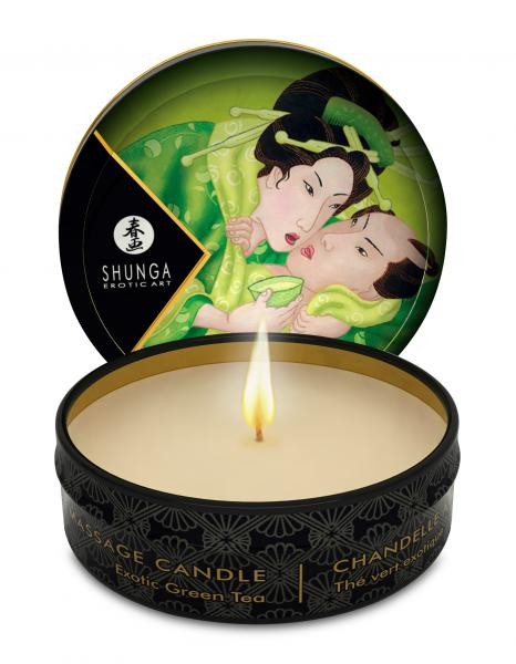 Massage Candle Exotic Green Tea 1oz