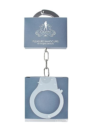 Ouch Pleasure Handcuffs Metal