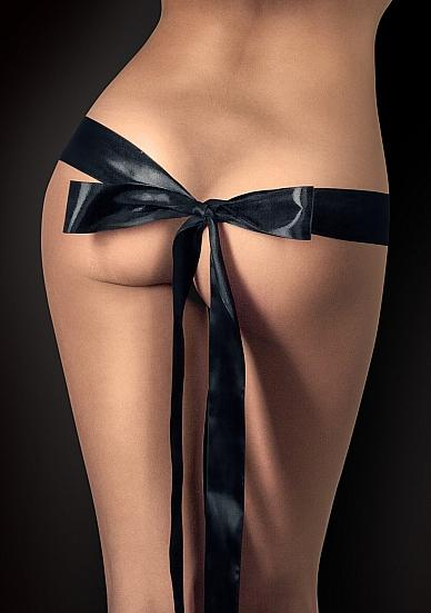 Ouch Silky Ribbon Black + 5ft