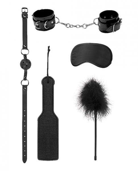 Ouch Introductory Bondage Kit #4 Black