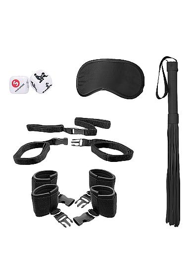 Ouch Bed Post Bindings Restraint Kit Black