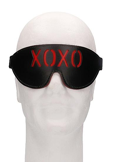 Ouch! Blindfold XOXO Black O/S