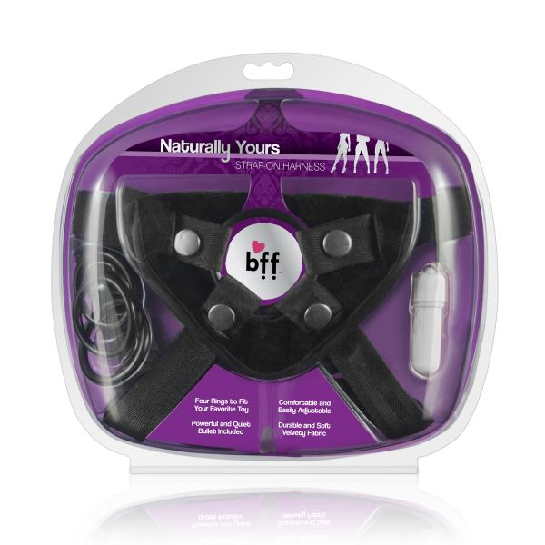 Bff Naturally Yours Strap On Harness OS