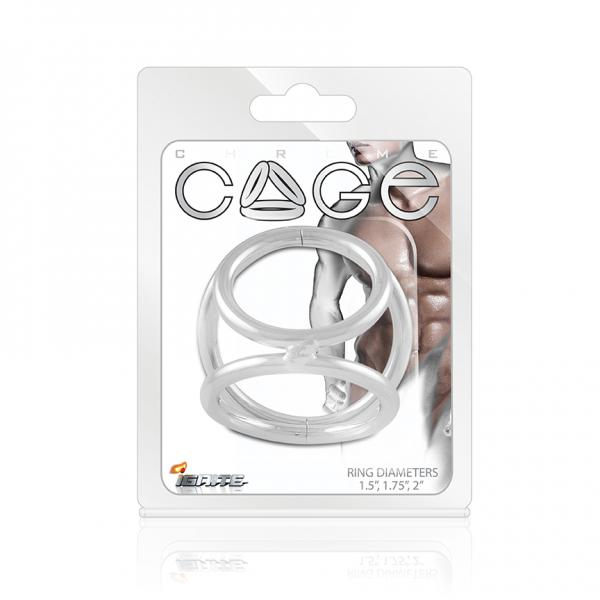 Chrome Cage C Rings