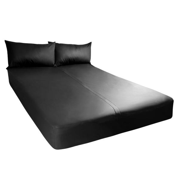 Exxxtreme Sheets California King Size Black