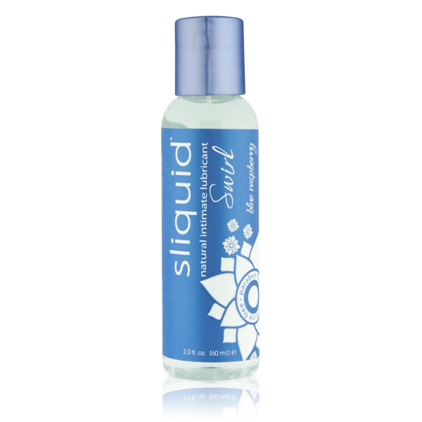 Sliquid Naturals Swirl Lubricant Blue Raspberry 2oz
