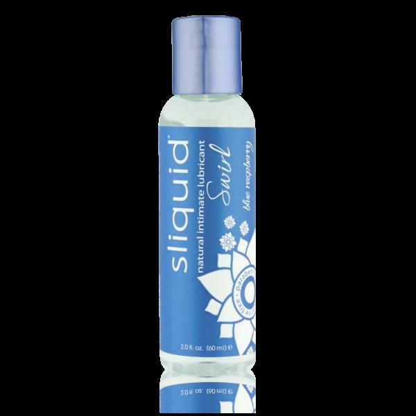 Sliquid Naturals Swirl Lubricant Blue Raspberry 2oz