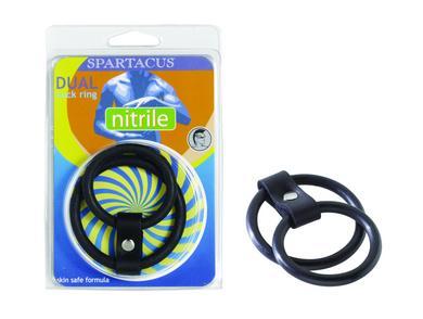 Nitrile Dual C Ring - Black