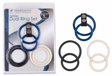 Nickel Free Nitrile Dual Ring Set