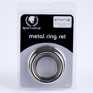 Nickel C Ring Set 3 Pack