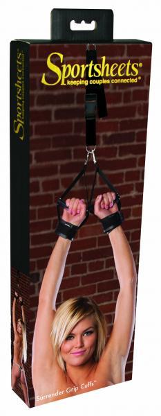 Sportsheets Surrender Grip Cuffs Black