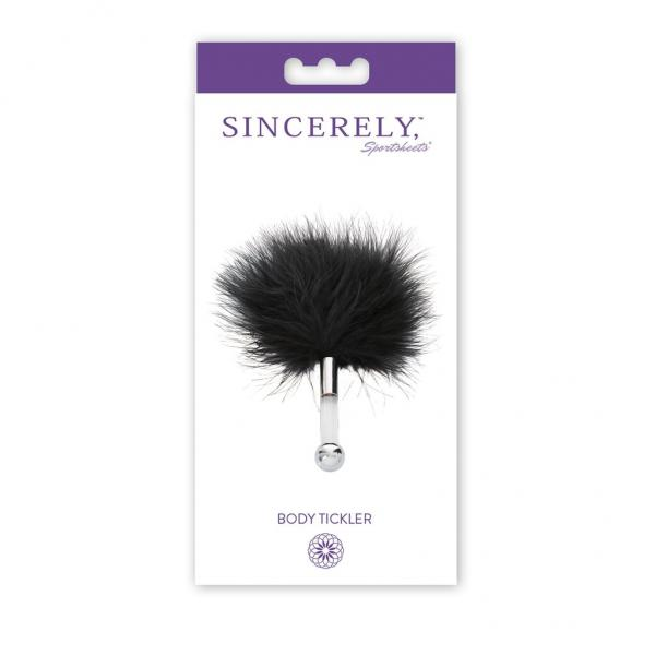 Sincerely Body Tickler Black