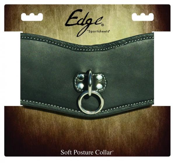 Edge Soft Leather Posture Black O/S