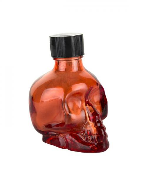 Liquid Latex Sparkle Body Glitter Red Skull 1oz