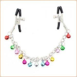 Adjustable Nipple Clamps Bells with Chain