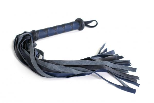 Diamond Back Flogger Black Blue