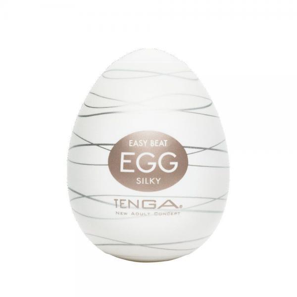 Tenga Egg Silky Stroker Clear
