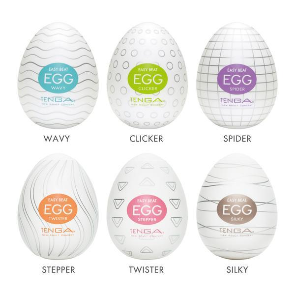 Tenga Egg Variety Pack Easy Beat Strokers 6 Pack