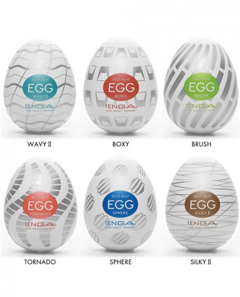 Tenga Egg Variety Pack Standard Masturbator 6 Pack
