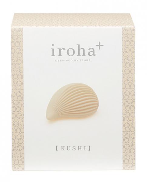 Iroha Plus By Tenga Kushi White Vibrator