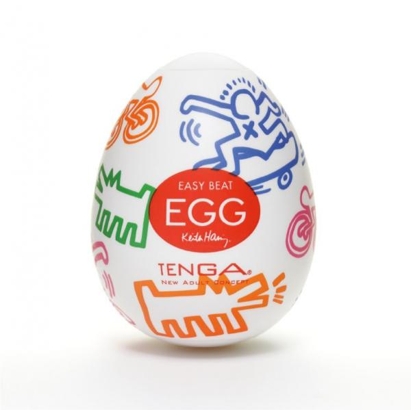 Tenga Keith Haring Easy Beat Egg Street Stroker