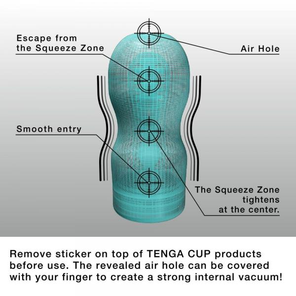Tenga Deep Throat Original Vacuum Cup Cool Edition