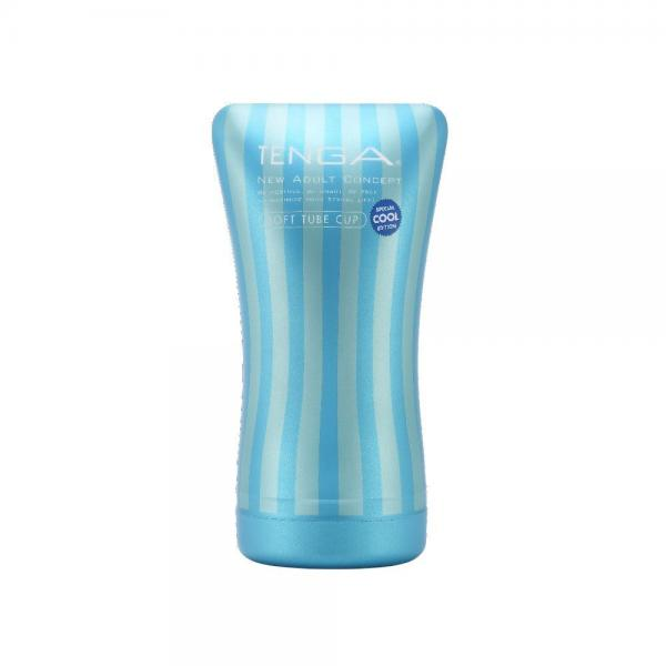 Tenga Soft Tube Cup Cool Edition Blue Stroker