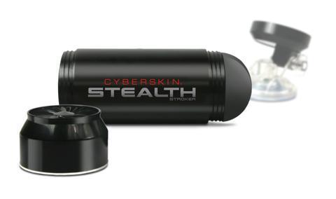 Cyberskin Stealth Ass Stroker Black
