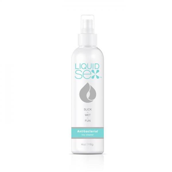 Liquid Sex Anti Bacterial Toy Cleaner 4 fluid ounces