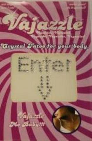 Vajazzle Enter Here