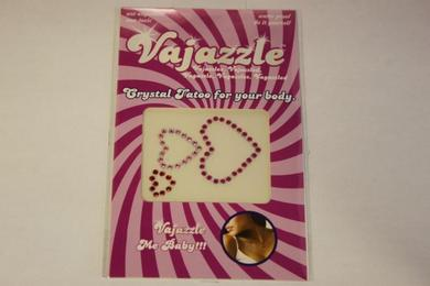 Vajazzle Multi Sized Colored Hearts