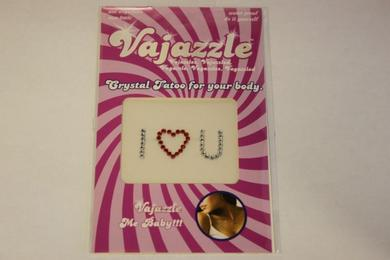 Vajazzle I Love You Red/Clear