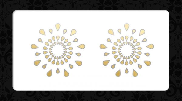 Nipple Pasties Gold/Silver