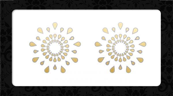 Nipple Pasties Gold/Silver