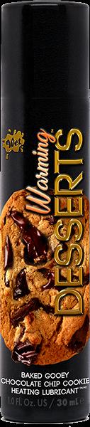 Wet Warming Desserts Lubricant Gooey Chocolate Chip Cookie 1oz