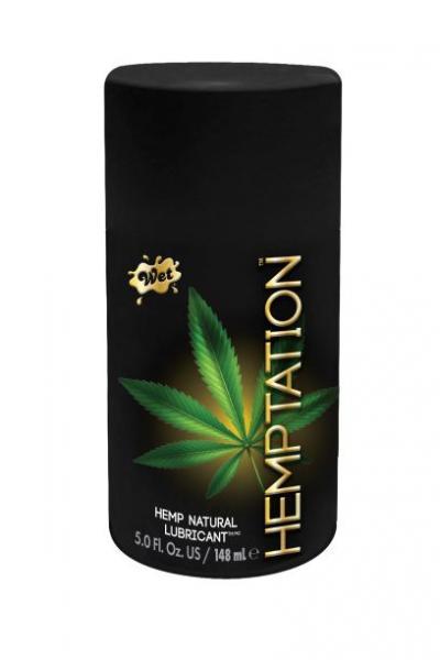 Wet Hemptation Hemp Natural Lubricant 5oz