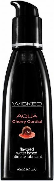 Wicked Aqua Cherry Cordial Lubricant 2oz