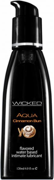 Wicked Aqua Lubricant Cinnamon Bun 4oz